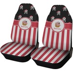 Pirate & Stripes Car Seat Covers (Set of Two) (Personalized)