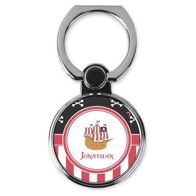 Pirate & Stripes Cell Phone Ring Stand & Holder (Personalized)