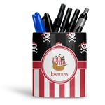 Pirate & Stripes Ceramic Pen Holder