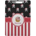 Pirate & Stripes Clipboard (Personalized)