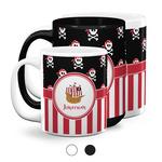 Pirate & Stripes Coffee Mugs (Personalized)