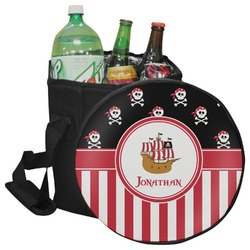 Pirate & Stripes Collapsible Cooler & Seat (Personalized)