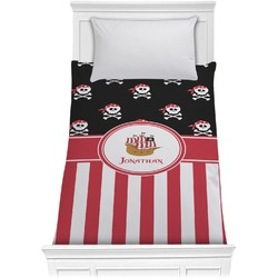 Pirate & Stripes Comforter - Twin (Personalized)