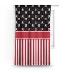 Pirate & Stripes Curtain (Personalized)