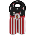 Pirate & Stripes Wine Tote Bag (2 Bottles) (Personalized)