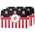 Pirate & Stripes Dish Drying Mat w/ Name or Text