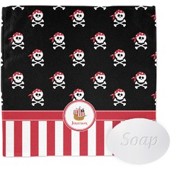 Pirate & Stripes Wash Cloth (Personalized)