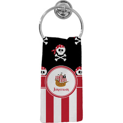 Pirate & Stripes Hand Towel - Full Print (Personalized)