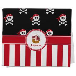 Pirate & Stripes Kitchen Towel - Full Print (Personalized)