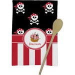 Pirate & Stripes Kitchen Towel - Full Print (Personalized)