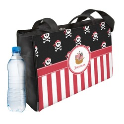 Pirate & Stripes Ladies Workout Bag (Personalized)