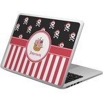 Pirate & Stripes Laptop Skin - Custom Sized (Personalized)