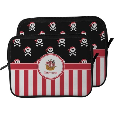 Pirate & Stripes Laptop Sleeve / Case (Personalized)