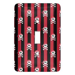Pirate & Stripes Light Switch Covers - Multiple Toggle Options Available (Personalized)