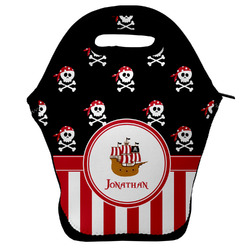 Pirate & Stripes Lunch Bag w/ Name or Text