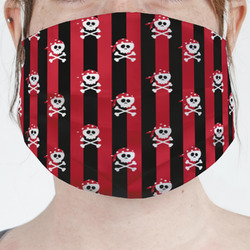Pirate & Stripes Face Mask Cover (Personalized)