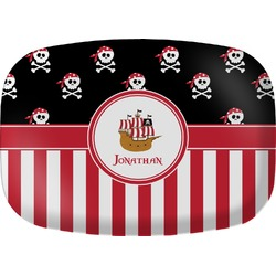 Pirate & Stripes Melamine Platter (Personalized)