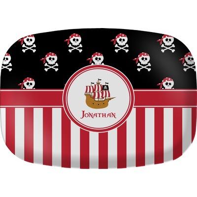 Pirate & Stripes Melamine Platter (Personalized)