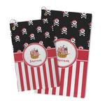 Pirate & Stripes Microfiber Golf Towel (Personalized)