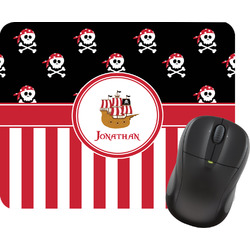 Pirate & Stripes Mouse Pads (Personalized)