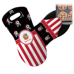 Pirate & Stripes Neoprene Oven Mitt (Personalized)