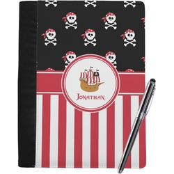 Pirate & Stripes Notebook Padfolio (Personalized)