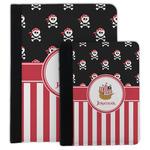 Pirate & Stripes Padfolio Clipboard (Personalized)