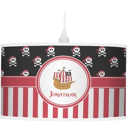 Pirate & Stripes Pendant Lamp (Personalized)