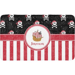 Pirate & Stripes Bath Mat (Personalized)