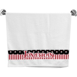 Pirate & Stripes Bath Towel (Personalized)