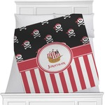 Pirate & Stripes Blanket (Personalized)