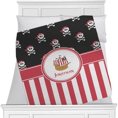 Pirate & Stripes Minky Blanket (Personalized)