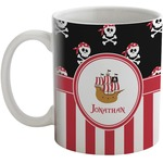 Pirate & Stripes Coffee Mug (Personalized)