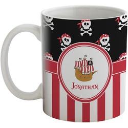 Pirate & Stripes Coffee Mug (Personalized)