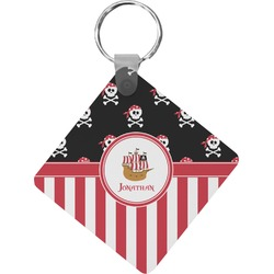 Pirate & Stripes Diamond Key Chain (Personalized)