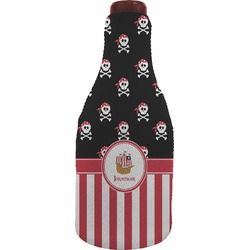 Pirate & Stripes Wine Sleeve (Personalized)
