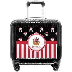 Pirate & Stripes Pilot / Flight Suitcase (Personalized)