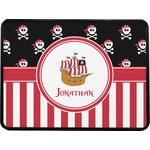 Pirate & Stripes Rectangular Trailer Hitch Cover (Personalized)