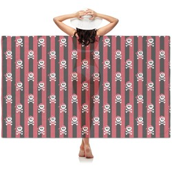 Pirate & Stripes Sheer Sarong (Personalized)