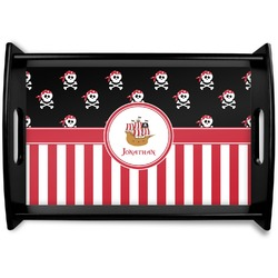 Pirate & Stripes Wooden Trays (Personalized)