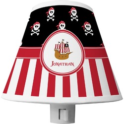 Pirate & Stripes Shade Night Light (Personalized)