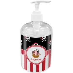 Pirate & Stripes Soap / Lotion Dispenser (Personalized)