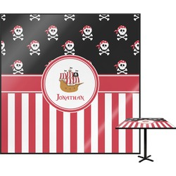 Pirate & Stripes Square Table Top (Personalized)