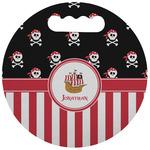 Pirate & Stripes Stadium Cushion (Round) (Personalized)