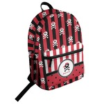 Pirate & Stripes Student Backpack (Personalized)