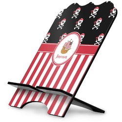 Pirate & Stripes Stylized Tablet Stand (Personalized)