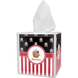 Pirate & Stripes Tissue Box Cover (Personalized)
