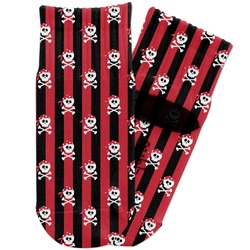 Pirate & Stripes Toddler Ankle Socks (Personalized)