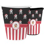 Pirate & Stripes Waste Basket (Personalized)