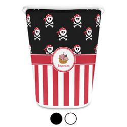 Pirate & Stripes Waste Basket (Personalized)